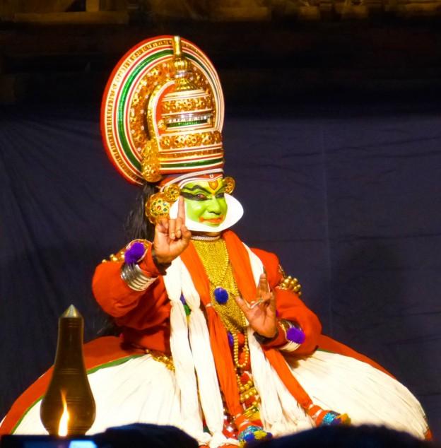 les sentiments dans la musique de Kathakali